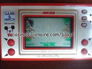 Mickey Mouse Nintendo Game & Watch