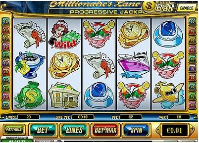 Millionaires Lane Slot