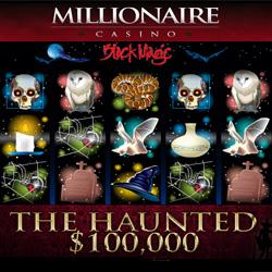 Millionaire Casino - $100,000 Halloween Tourney - The Haunted $100,000