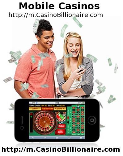 Jogos de casino no celular