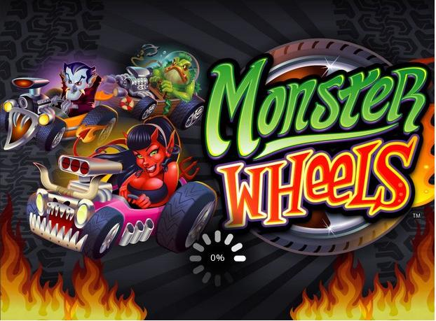 Monster Wheels slot game by Microgaming