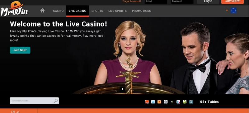 Mr Win online casino and Sportsbook