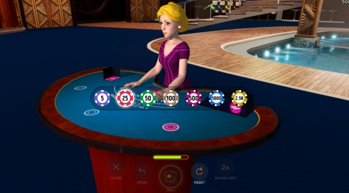Multiplayer Blackjack Online Virtual Dealer