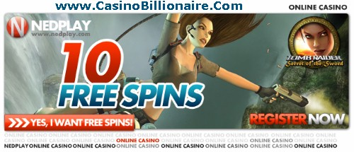 10 Free Spins at Nedplay