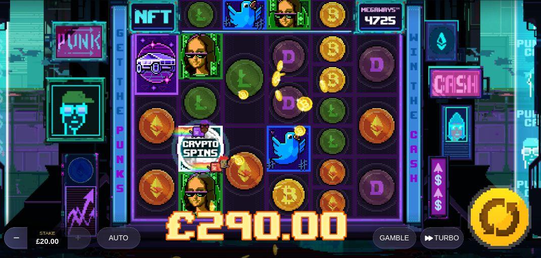 Nft Megaways Slot Game Big Win
