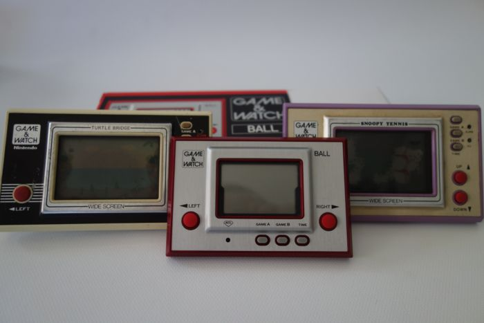 Nintendo Game Watch Collection Ball