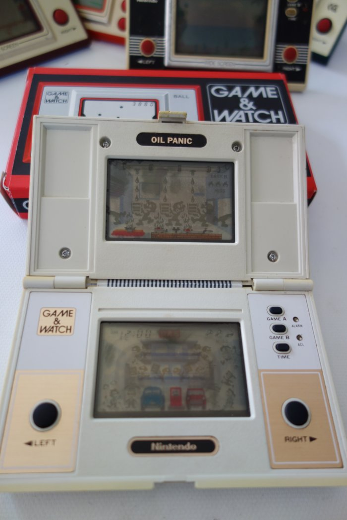 Nintendo Game Watch Collection Oil Panic