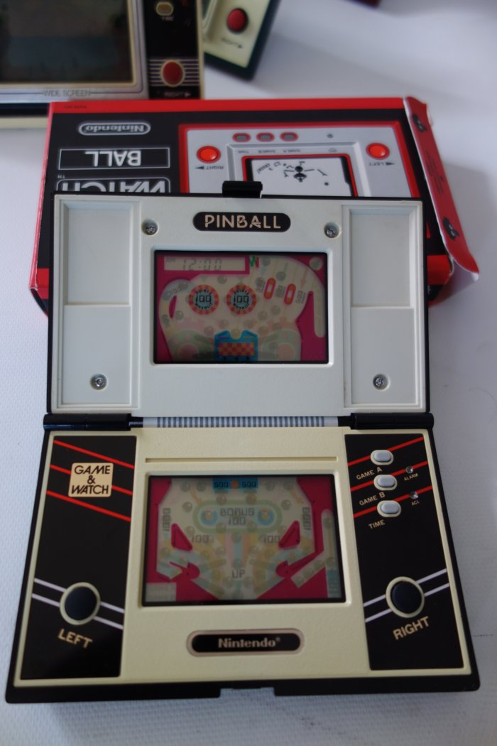 Nintendo Game Watch Collection Pinball