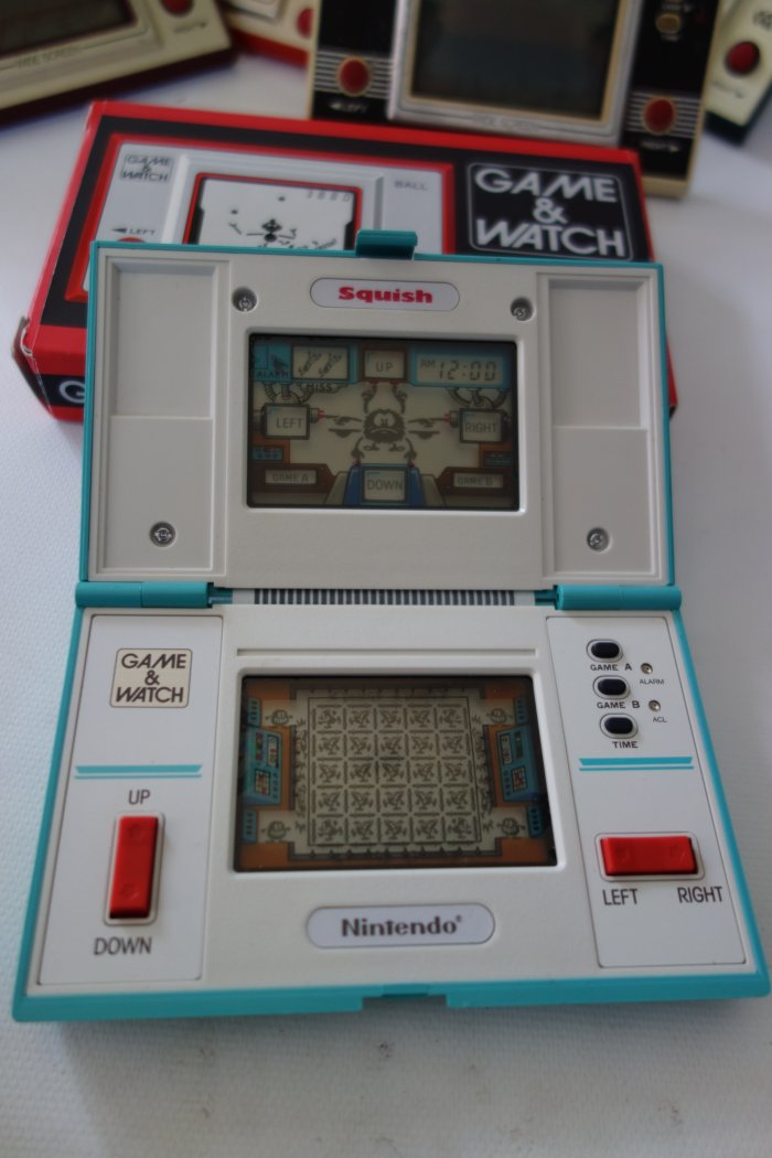 Nintendo Game Watch Collection Squish
