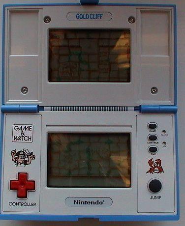 Nintendo Game & Watch Gold Cliff