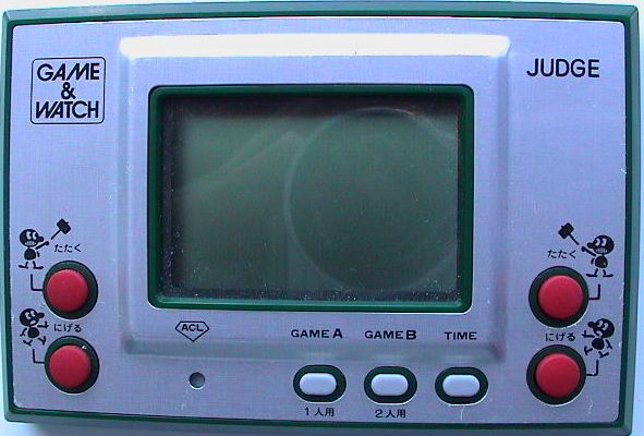 Nintendo Game & Watch Judge
