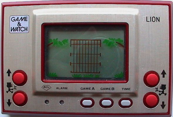 Nintendo Game & Watch Lion