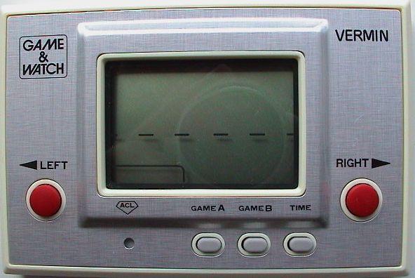 Nintendo Game & Watch Vermin
