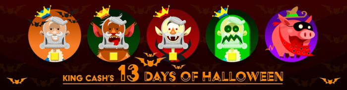 Playsugarhouse - King Cash's 13 Days of Halloween