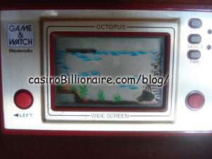 Octopus Nintendo Game & Watch