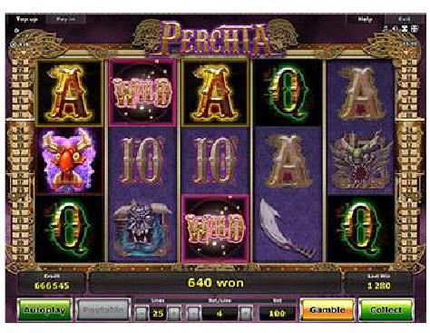 Perchta slot game - Stargames