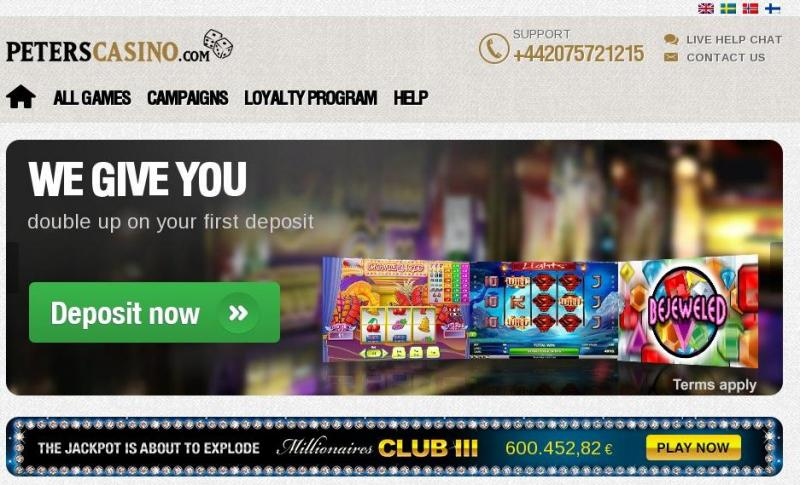 Peters Casino online casino