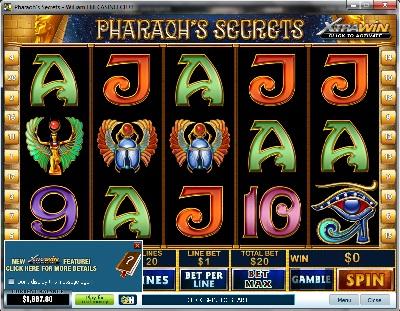 Pharaohs Secrets Slot