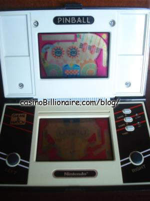 Pinball Nintendo Game & Watch