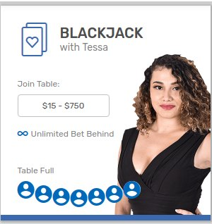 Play Live Blackjack Bovada Casino