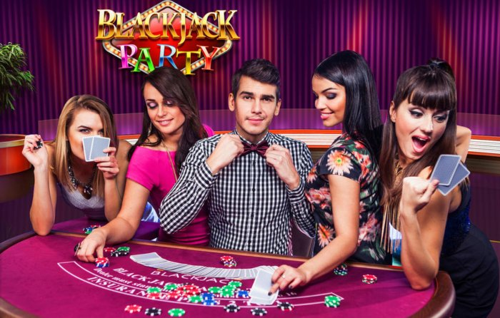 Play Live Blackjack Party USA