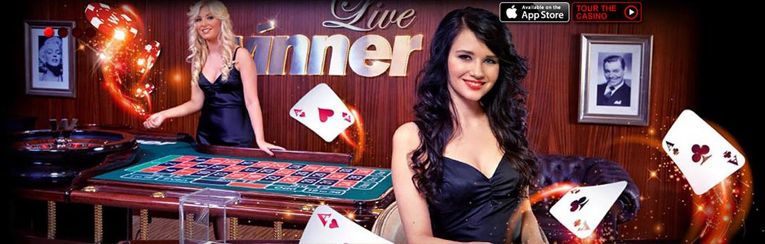 Play live Blackjack at Winner