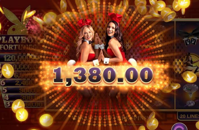 Playboy Fortunes slot game review