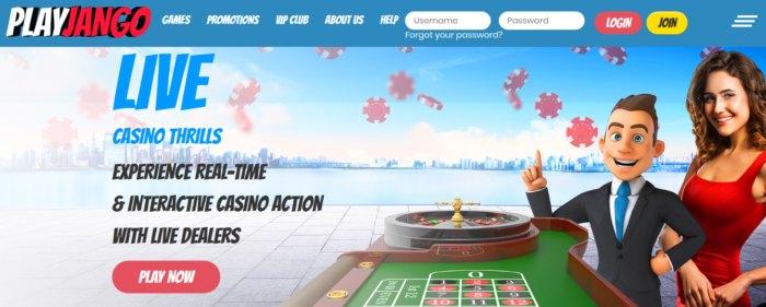 PlayJango Casino review