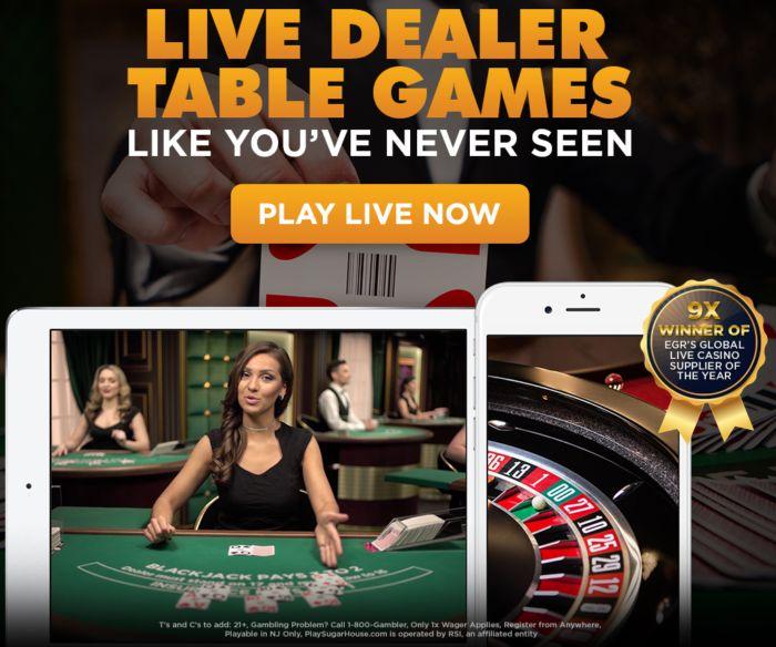 Playsugarhouse Usa Live Casino