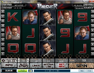 Punisher War Zone Slot