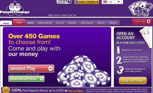 Purple Lounge Casino review