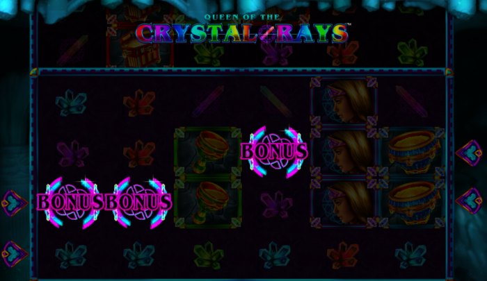 Queen Of The Crystal Rays slot game