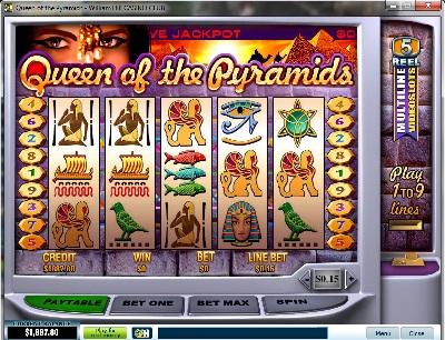 Queen of Pyramids Slot