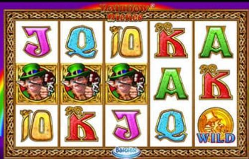 Rainbow Riches slot machine Leprechaun