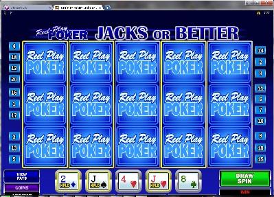 Reel Play Poker Jacks or Better