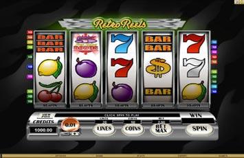 Retro Reels Slot Game Microgaming