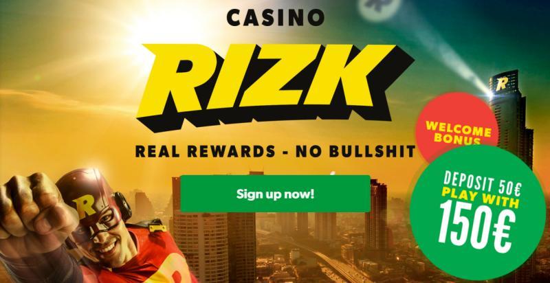 Rizk Casino auf Deutsch