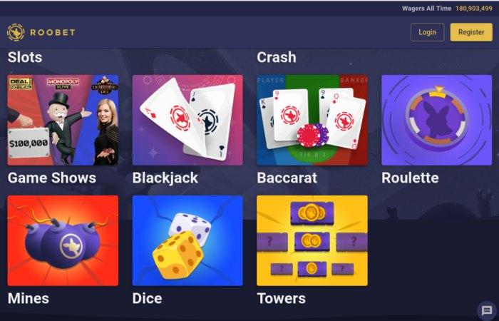 Roobet Bitcoin Casino