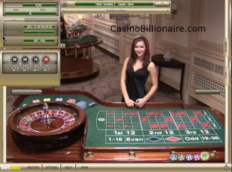Live Dealer roulette - Bet365 Casino
