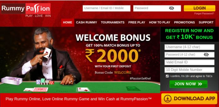 RummyPassion Indian Rummy
