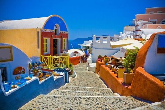 Santorini Greece tourism