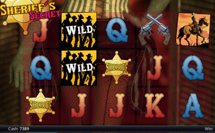 Sheriff's Secret slot game review
