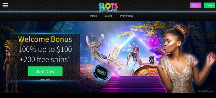 Slots Heaven Casino Canada NZ