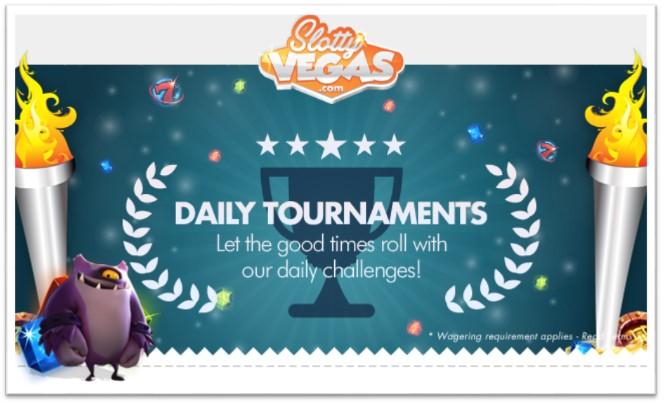 Slotty Vegas Casino - slot tournament