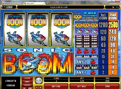 Sonic Boom Slot
