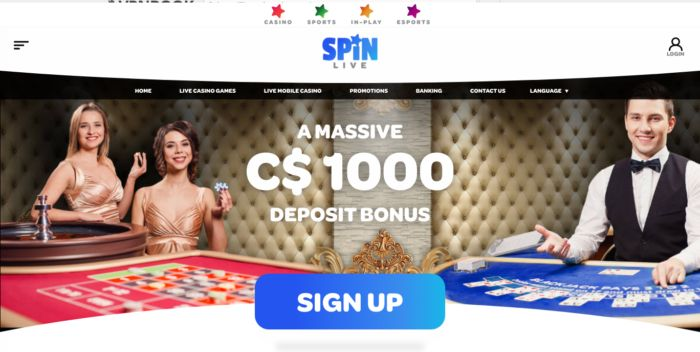 Spincasino Spinsports Canada India NZ