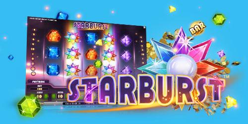 Starburst - 50 gratisspiele