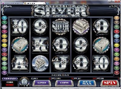 Sterling Silver Slot