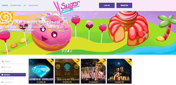 Sugar Casino review