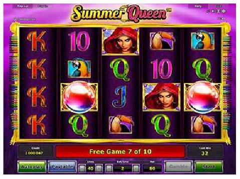 Summer Queen Spielautomaten - Stargames